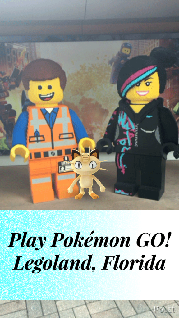 Play Pokémon Go! Legoland Florida | Rules for Safety