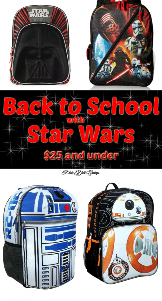 Feel the Force: Star Wars School Supplies $25 and Under