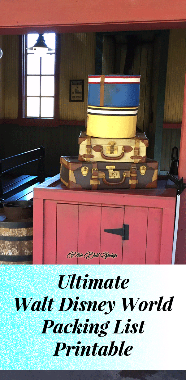 Ultimate Walt Disney World Packing List