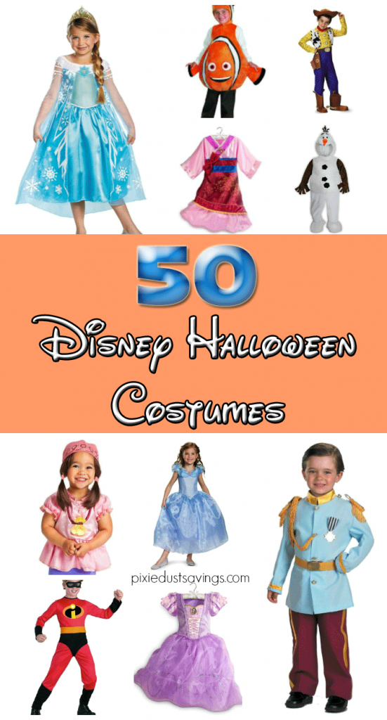 50 Disney Halloween Costumes : Princesses, Pirates, and More!