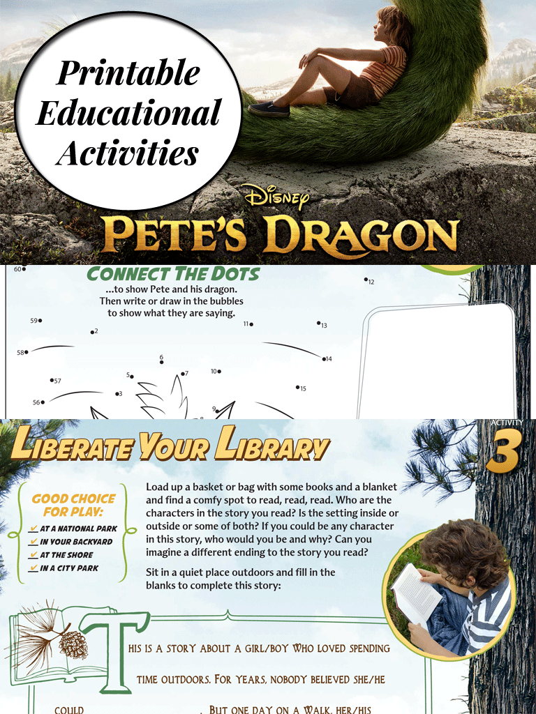 Pete's Dragon Activities