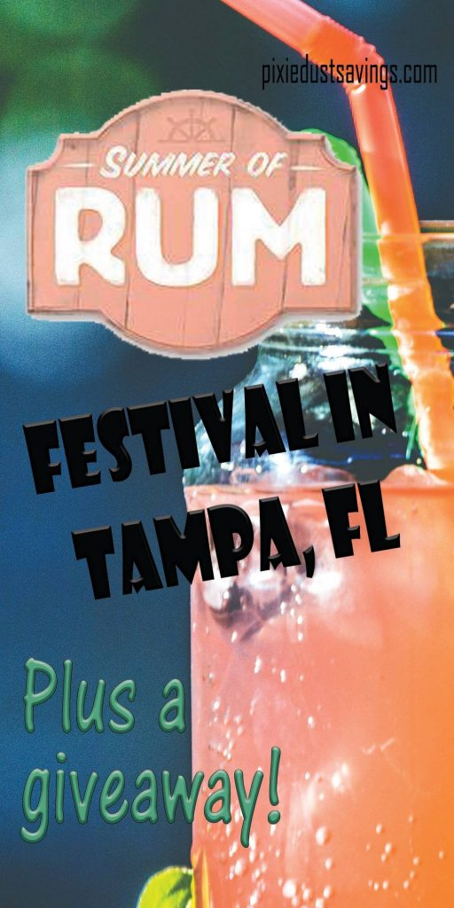 Celebrate Labor Day Weekend at the Summer of Rum Festival + Giveaway!