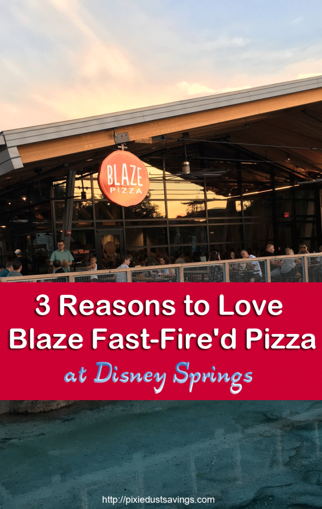 3 Reasons to Love Blaze Fast-Fire'd Pizza at Disney Springs