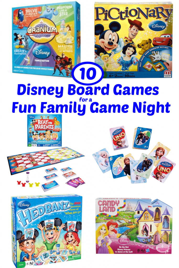 10 Disney Board Games for a Fun Family Game Night