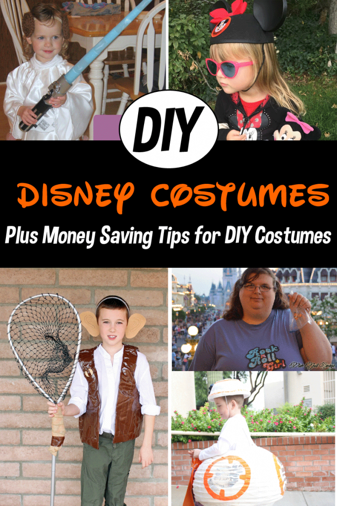 DIY Disney Halloween Costumes