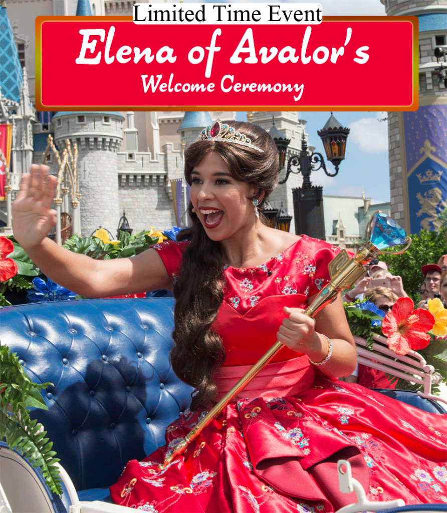 Magic Kingdom Welcomes Elena of Avalor | Limited Time Show