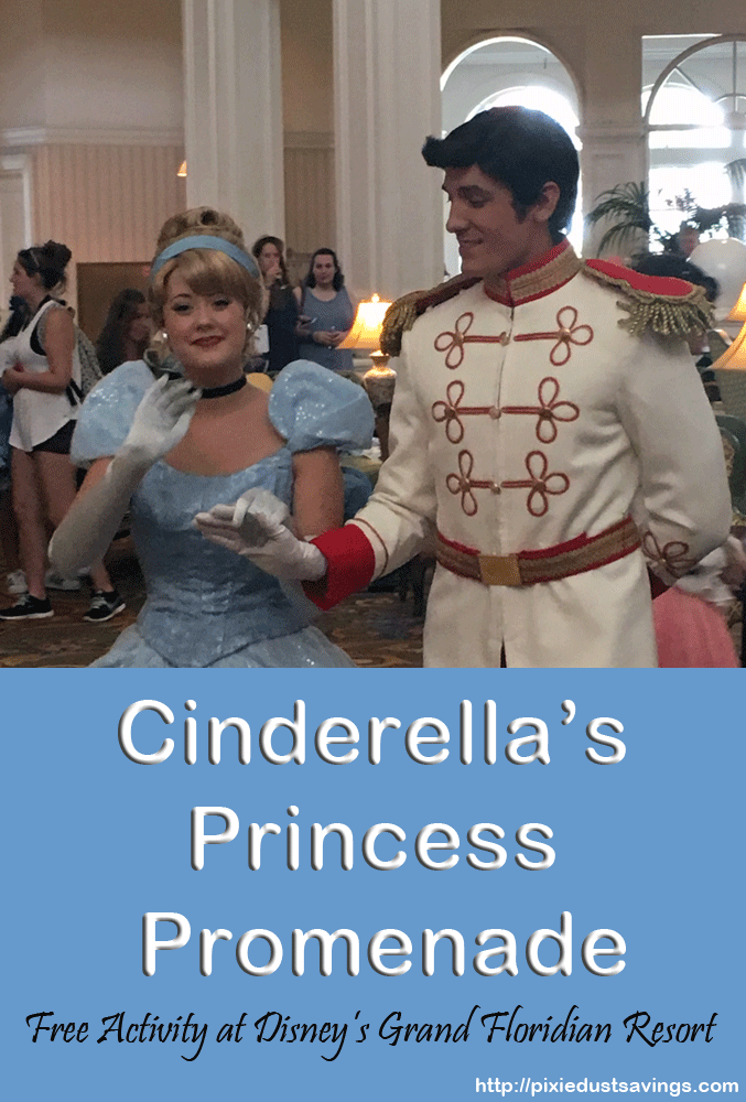 Cinderella's Princess Promenade at the Grand Floridian Resort