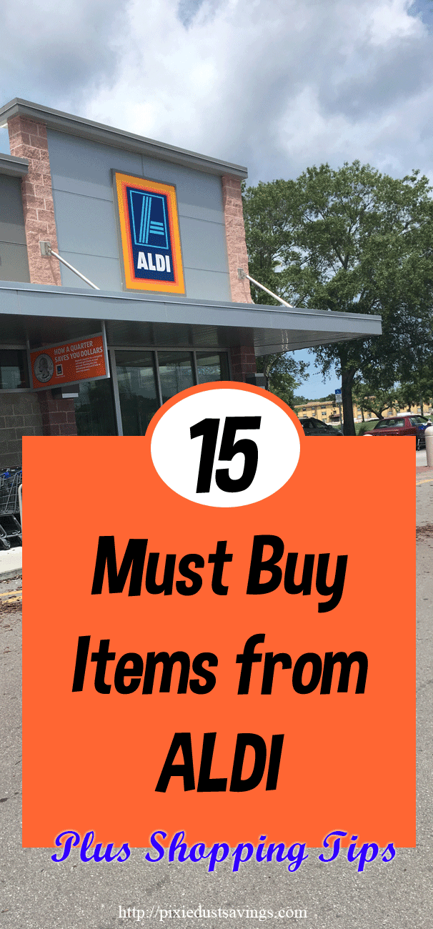 Must Buy Items from ALDI
