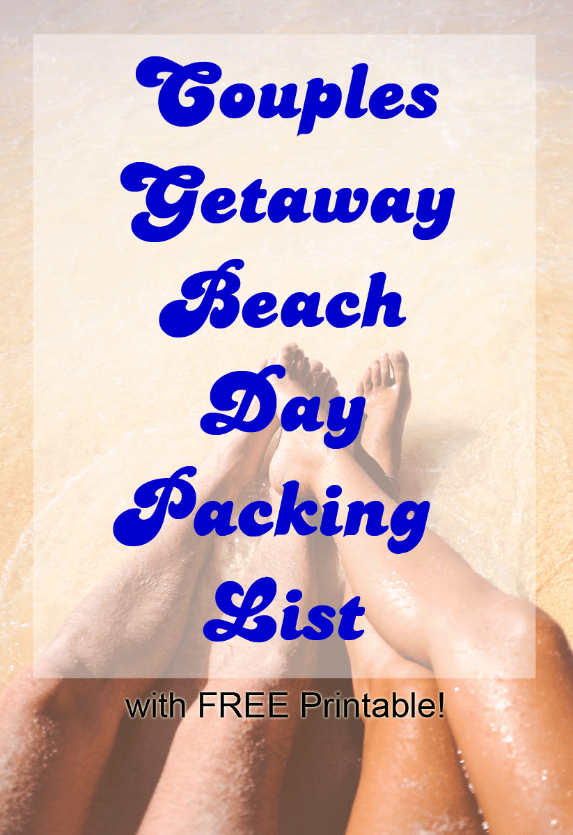 Beach day Packing List