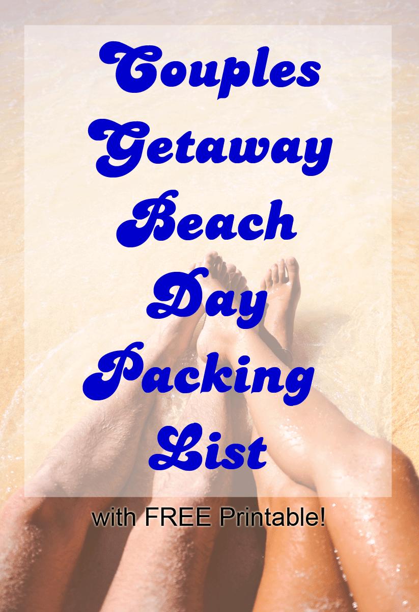 Beach Day Packing List
