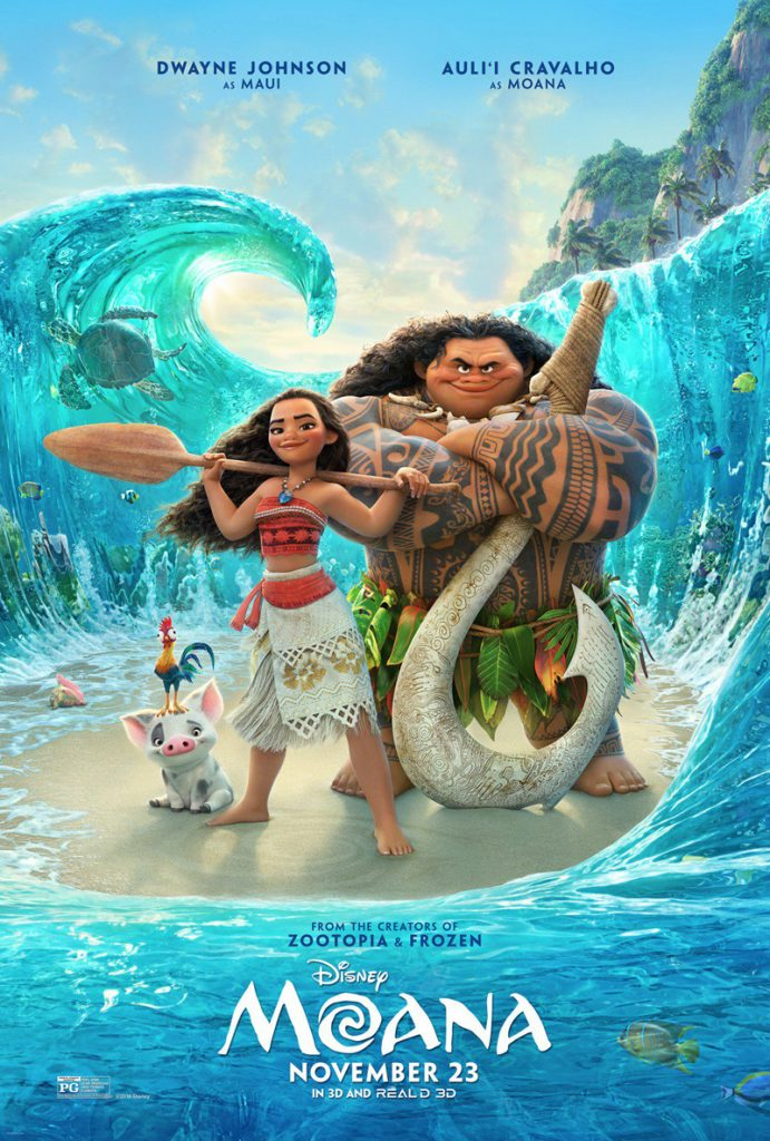 Moana Trailer Review