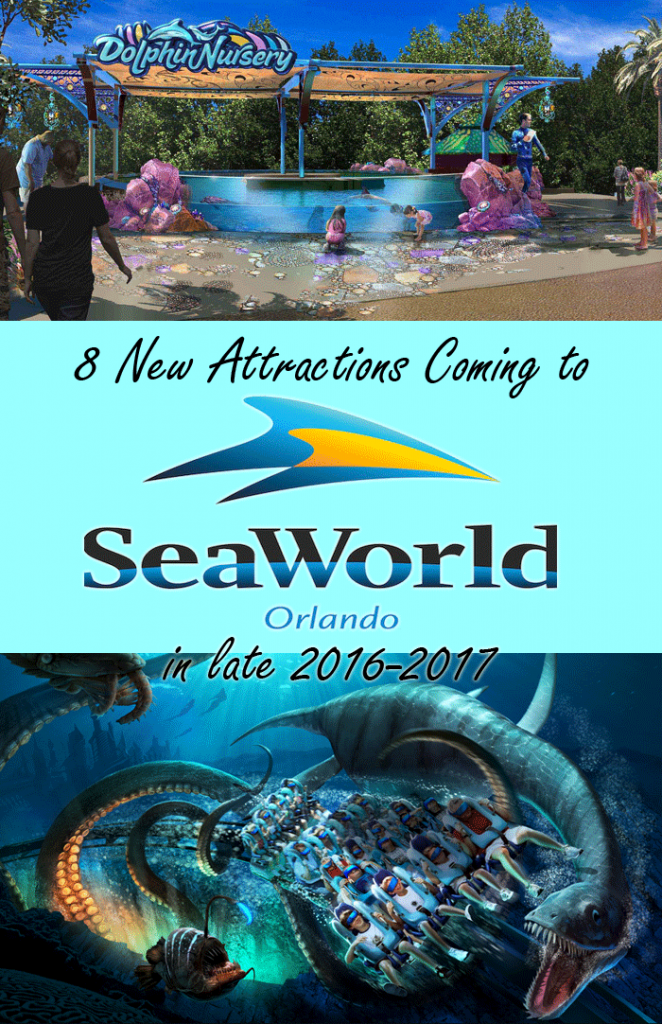 SEAWORLD® ORLANDO UNVEILS NEW ATTRACTION LINEUP FOR 2017