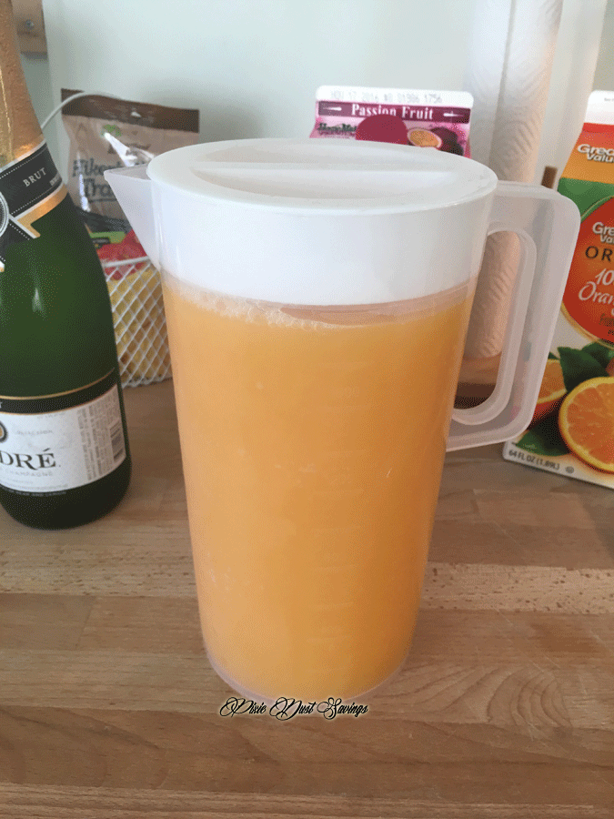 POG Juice Mimosa Recipe