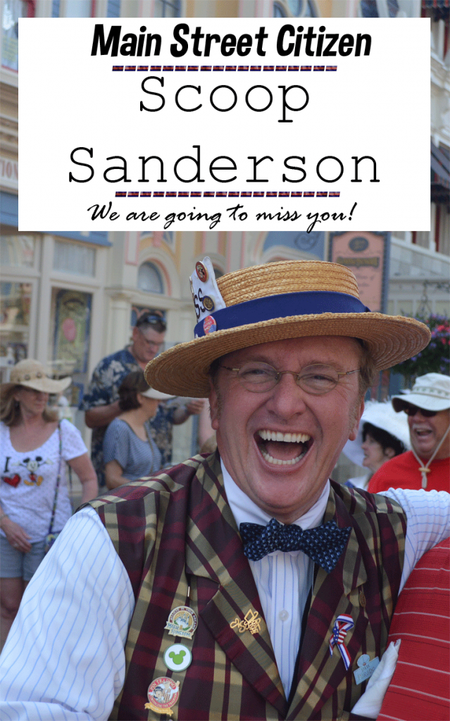 Gonna Miss Scoop Sanderson | Magical Monday Blog Hop #4