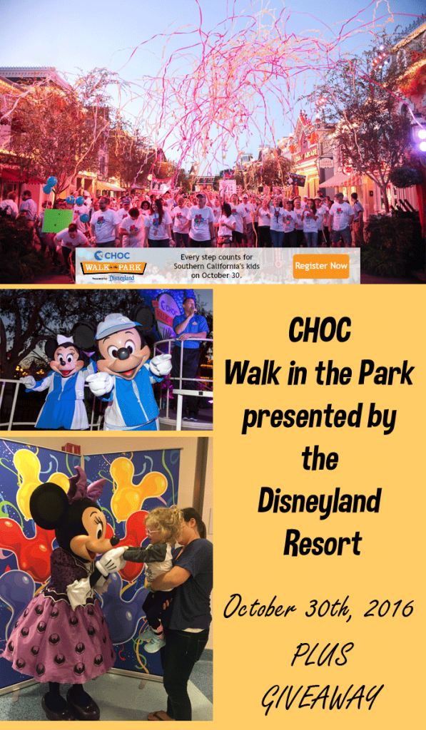 CHOC Walk in the Park | Children's Hospital's Annual 5K at Disneyland