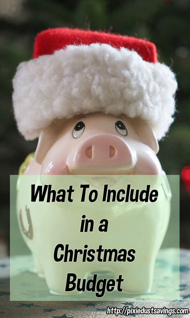 What To Include in a Christmas Budget