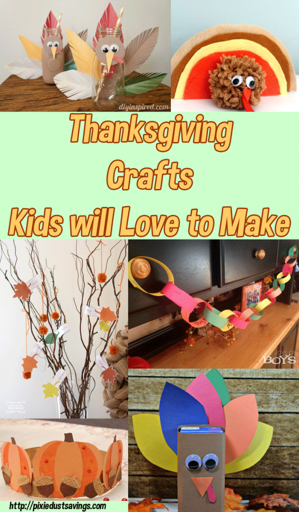 thanksgiving crafts for kids disney inspired and more