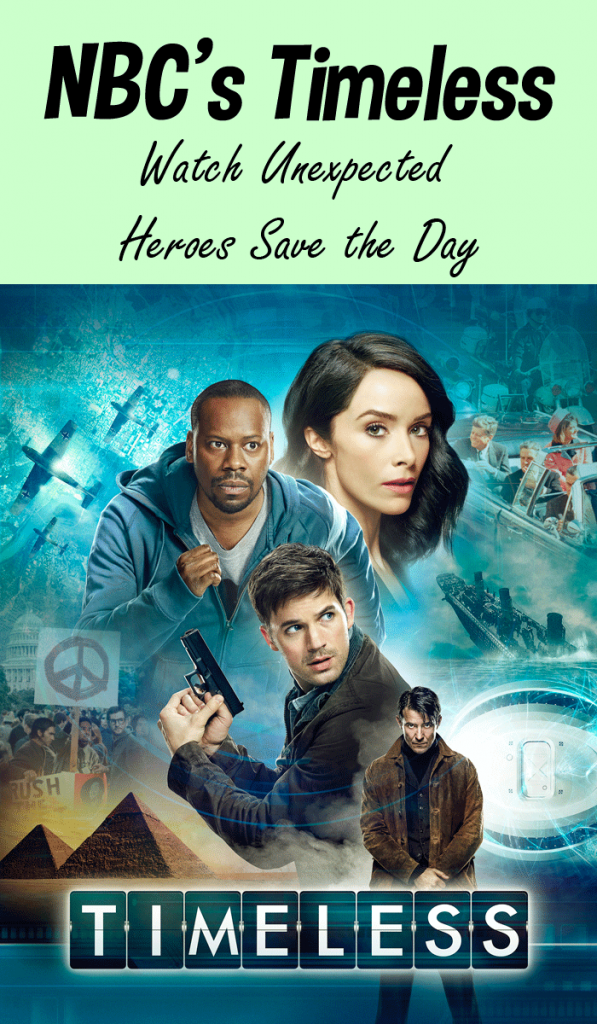 NBC's Timeless | Unexpected Heroes Saving the Day with Time Travel