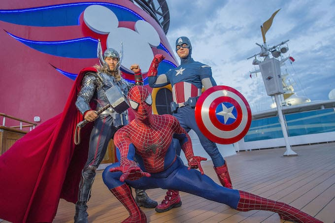 Disney Cruise Line Introduces Marvel Day at Sea