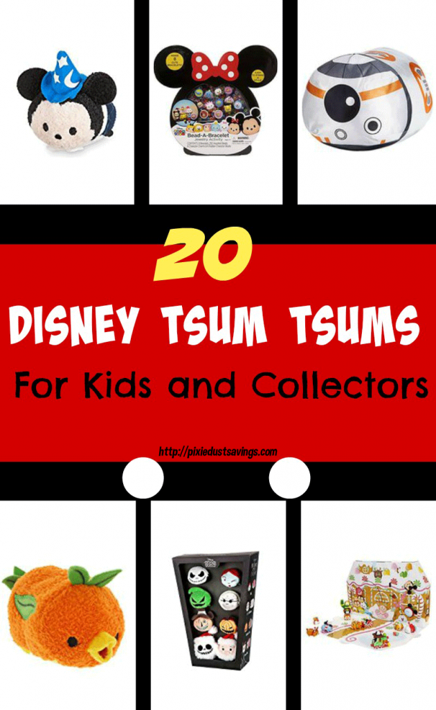 20 Disney Tsum Tsum Gifts for Kids and Collectors