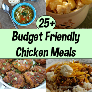 25+ Budget Friendly Chicken Meals for When Money is Tight