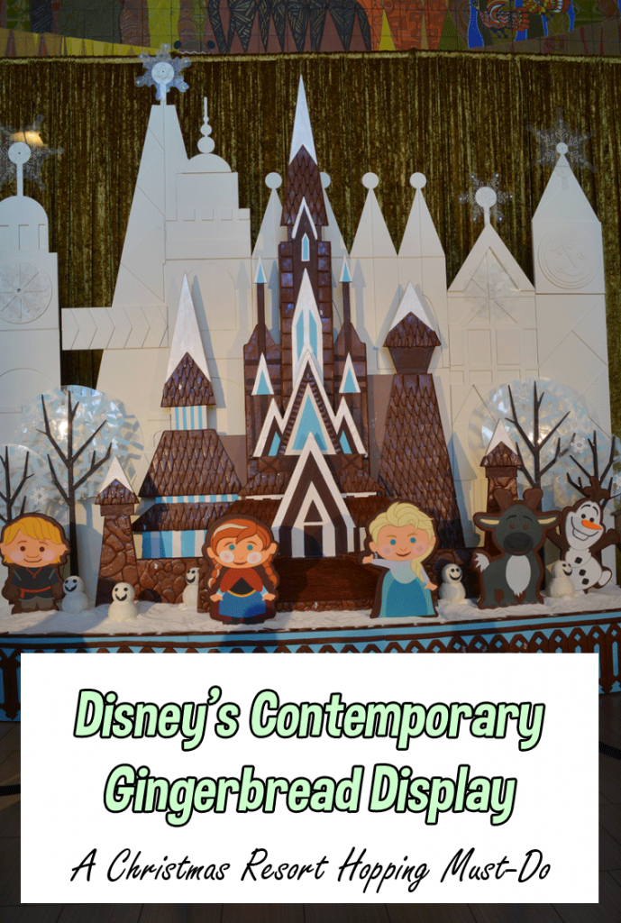 Christmas at Disney | Contemporary Resort Gingerbread Display