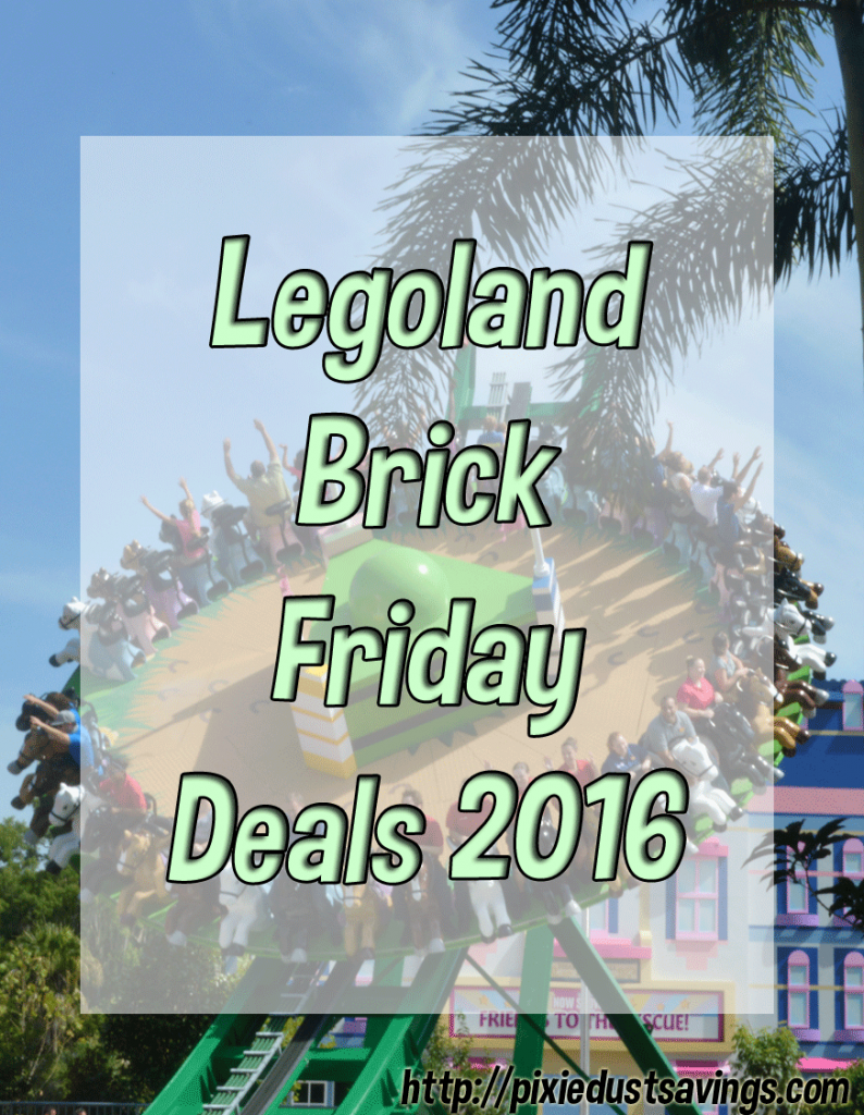 BrickFriday Legoland Deals | Sign Up Now to Get Them