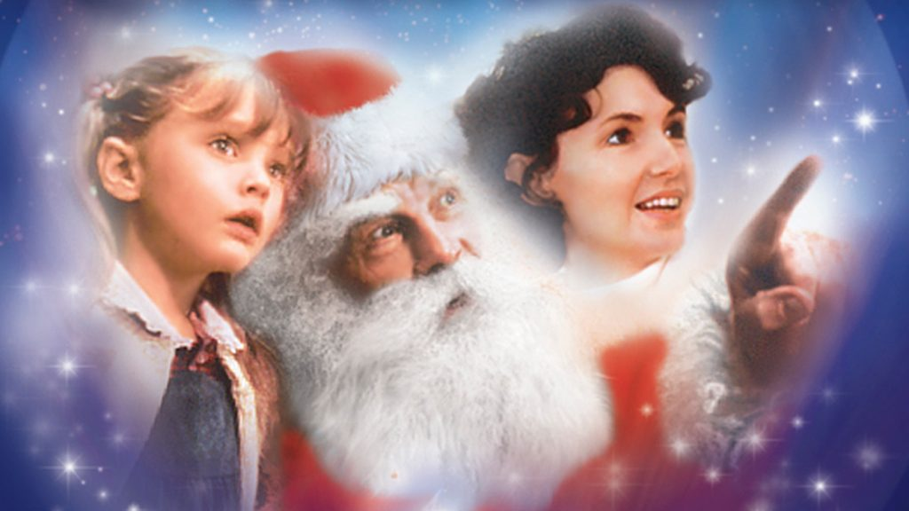 One Magic Christmas Characters daughter, Santa, and Mom