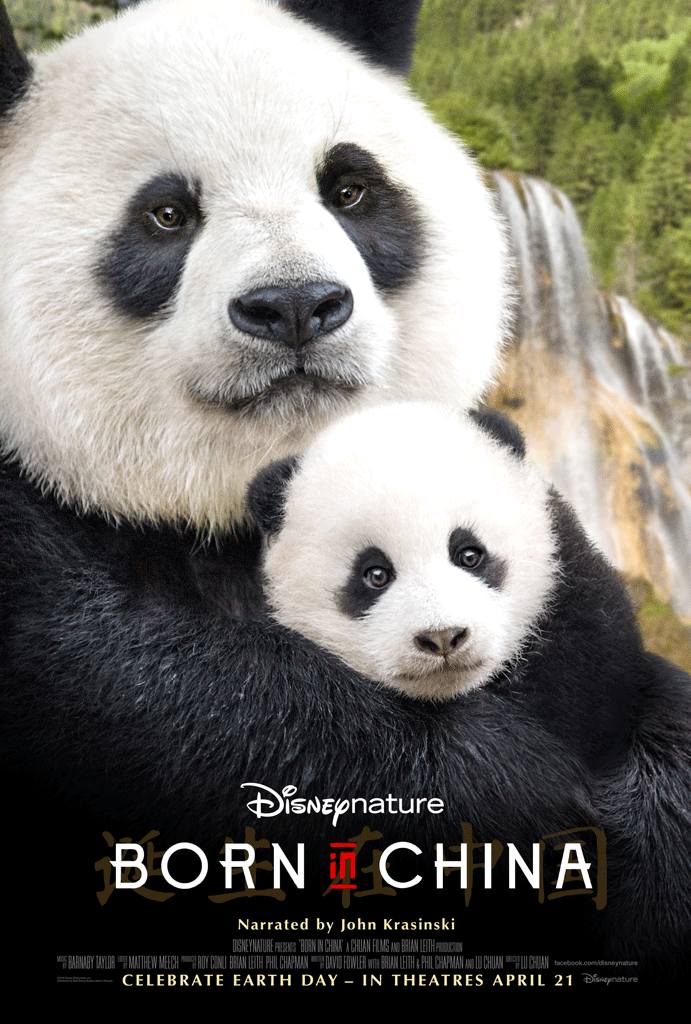 Disneynature's Born in China Trailer and Printable Activities