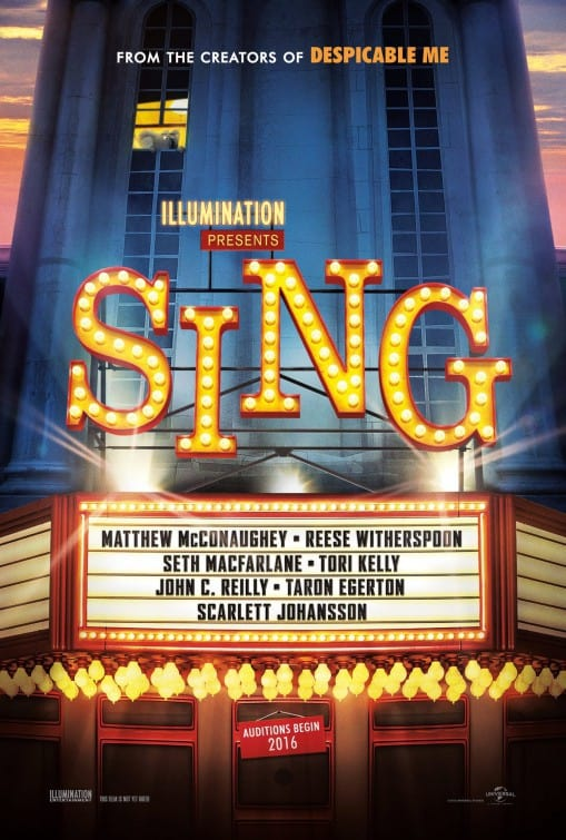 Sing it Loud | Sing Movie Review + Coloring Page and Posters