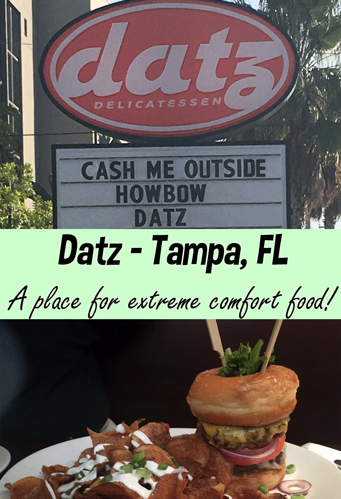 Reasons to Love Datz – Tampa Bay Restaurant for Foodies + Giveaway