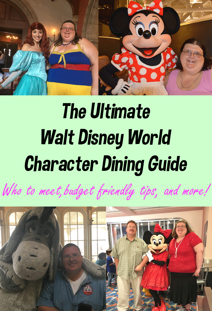 Walt Disney World Character Dining