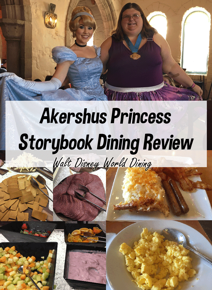Akershus Review | A Princess Storybook Character Breakfast