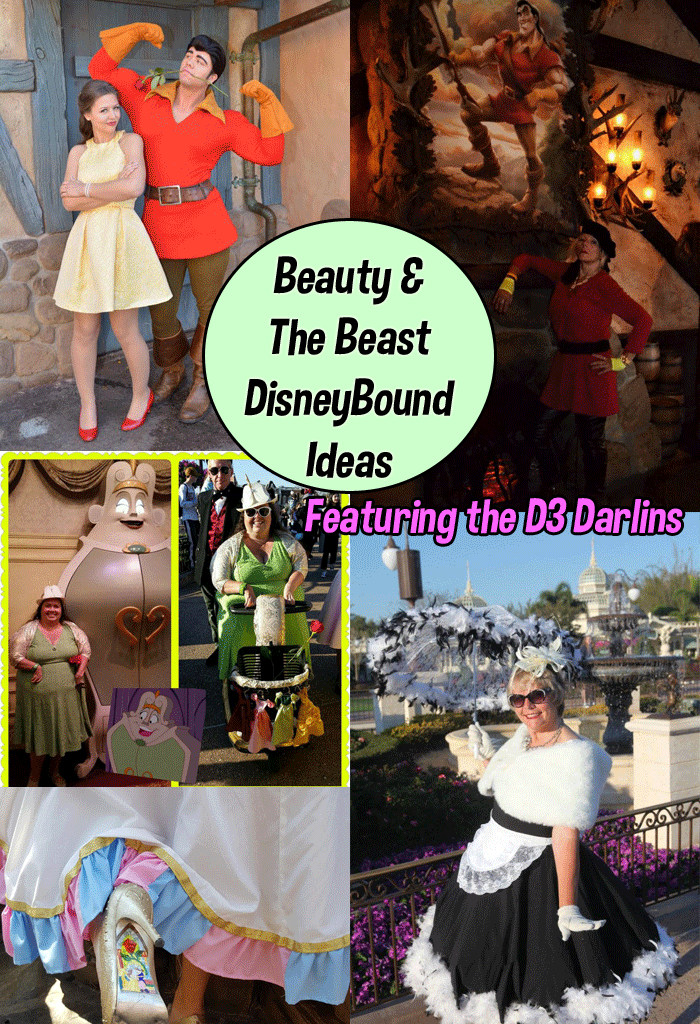 Beauty and the Beast Dapper Disneybound Inspiration