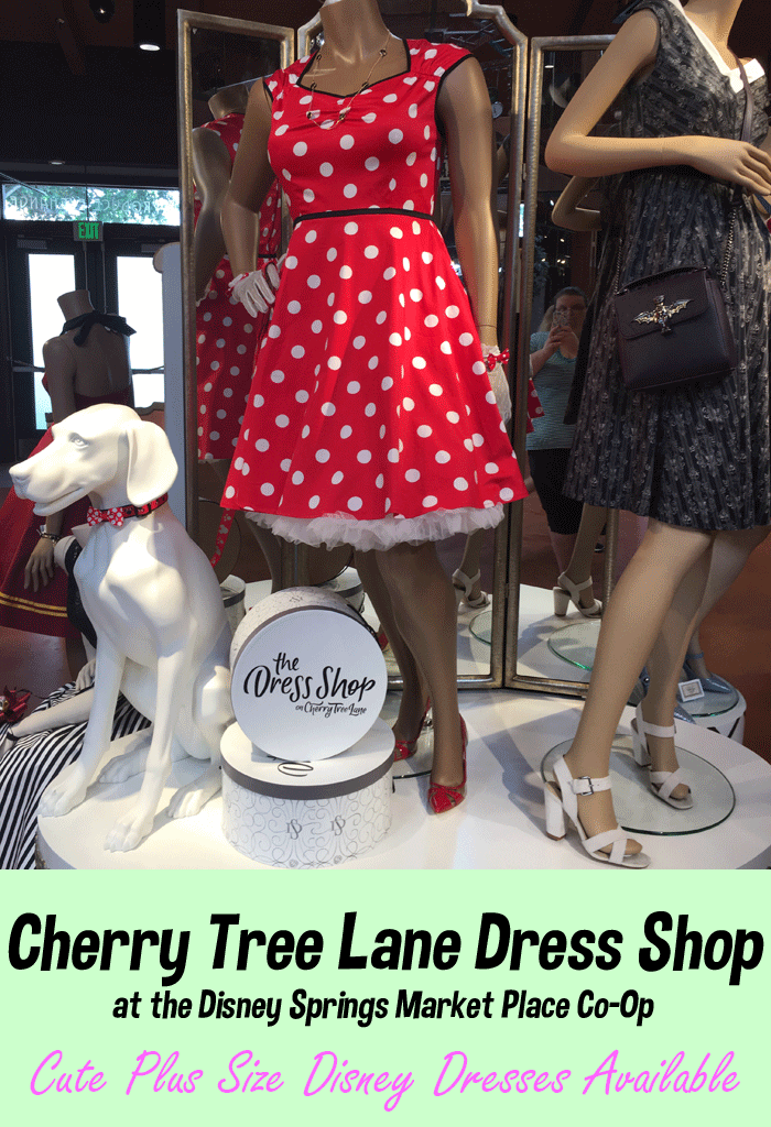 Cherry Tree Lane Dress Shop has Cute Plus-Size Disney Dresses