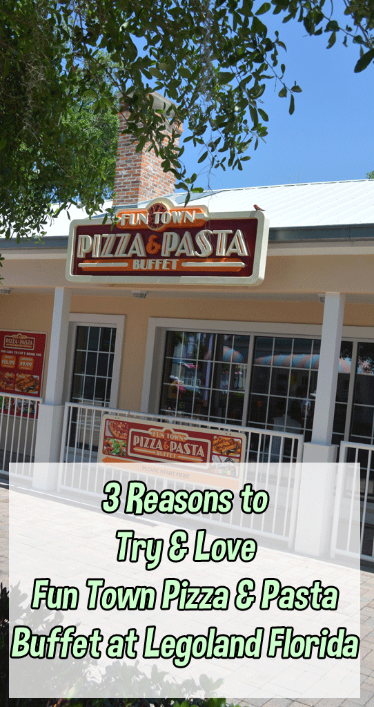 Legoland Florida Dining | Fun Town Pizza and Pasta Buffet
