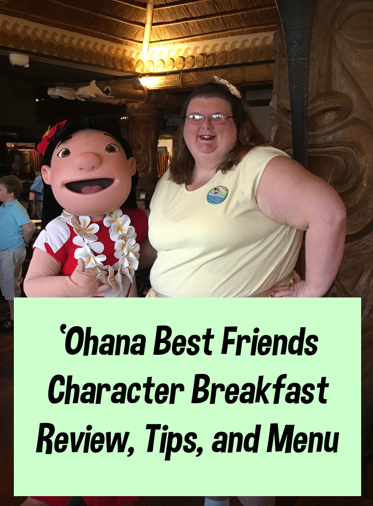 Best Friends 'Ohana Breakfast | Dine with Lilo and Stitch