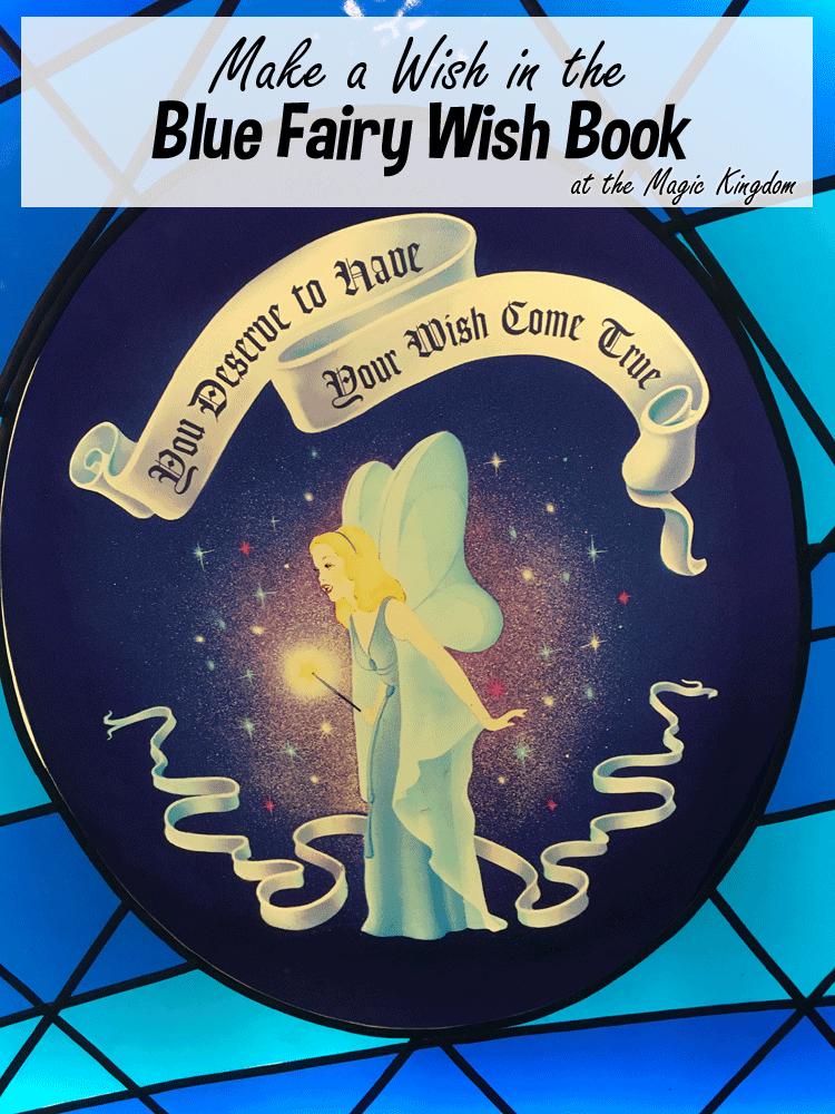 Magic Kingdom Hidden Magic | Blue Fairy Wish Book