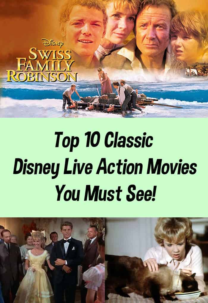 Top 10 Classic Disney Live Action Movies You Must See!