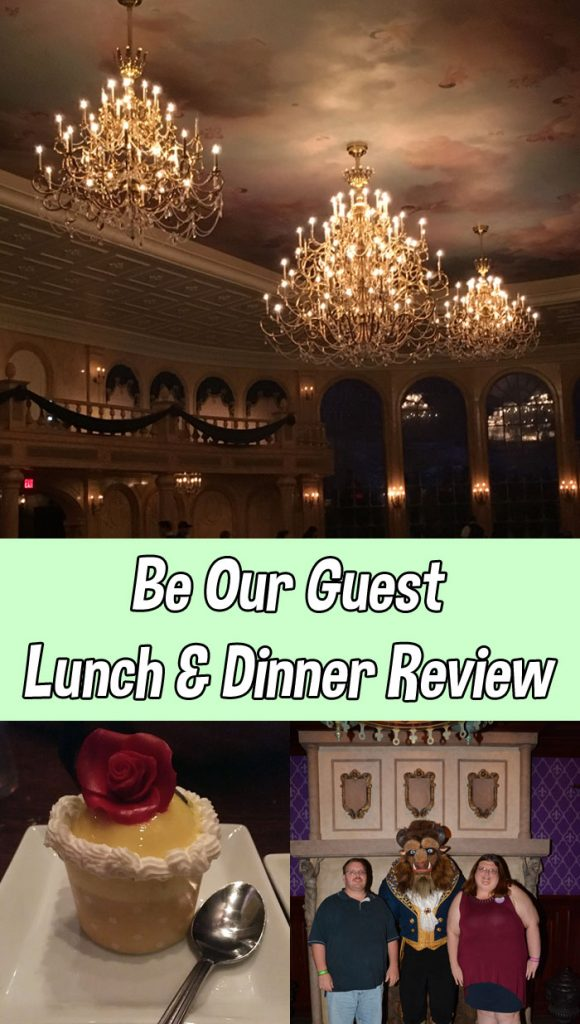 Be Our Guest Restaurant Review | Lunch and Dinner