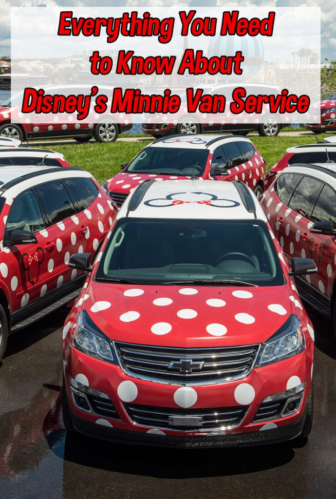 What You Need to Know – Disney Minnie Van Service