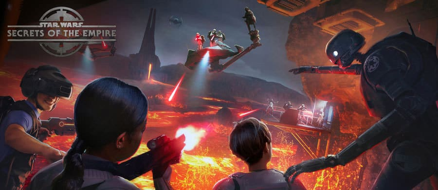 Star Wars: Secrets of the Empire VOID Experience at Disney Springs