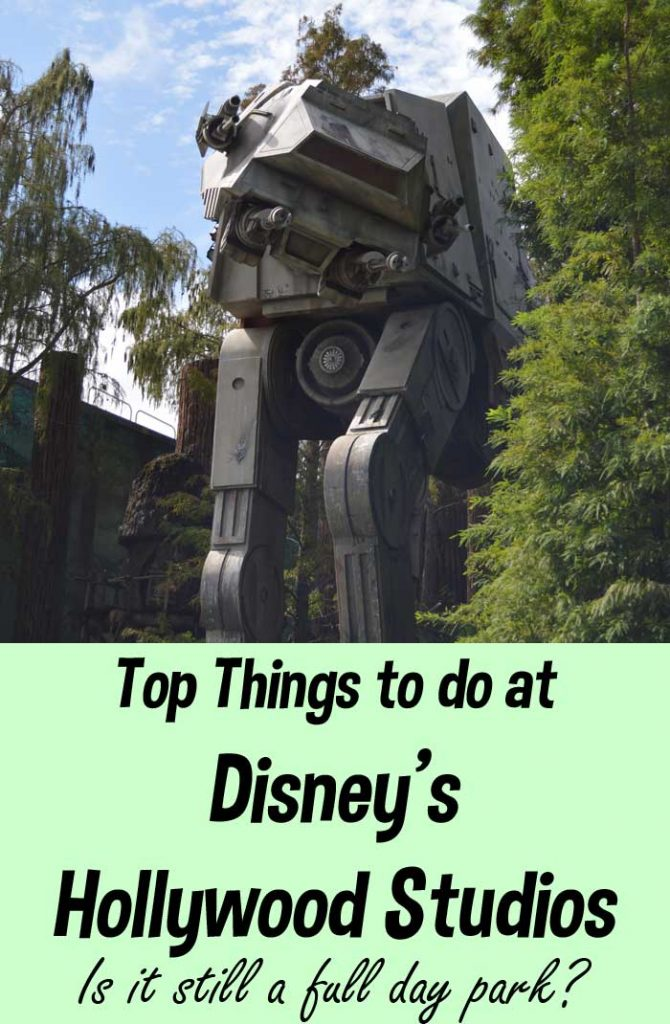 Top Things to Do at Hollywood Studios | Full or Half Day Park?