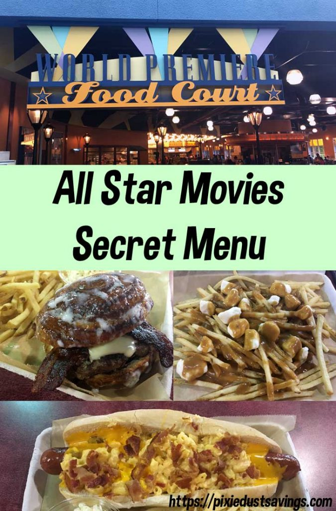 All-Star Movies Secret Menu | Extreme Eats at WDW