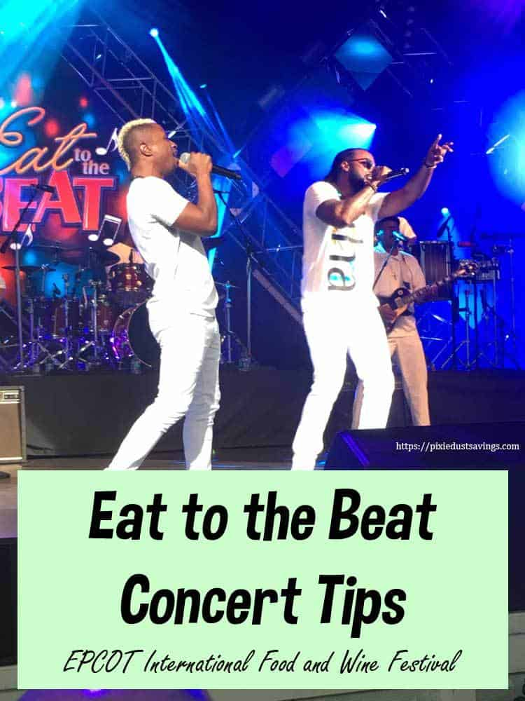 Eat to the Beat Concert Tips