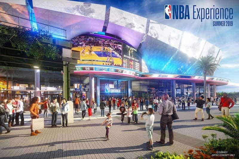 The NBA Experience | Coming to Disney Springs Summer 2019