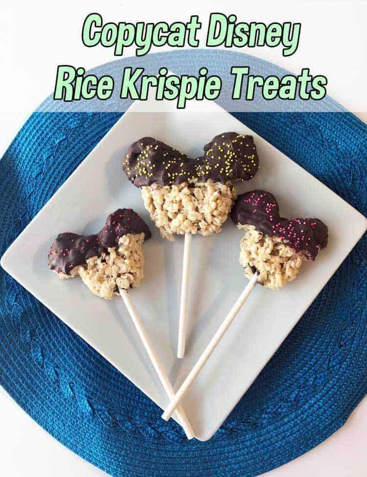 Disney Rice Krispie Treats Copycat Recipe