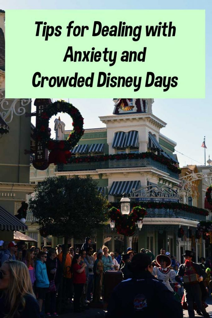 Anxiety and Crowded Disney Days
