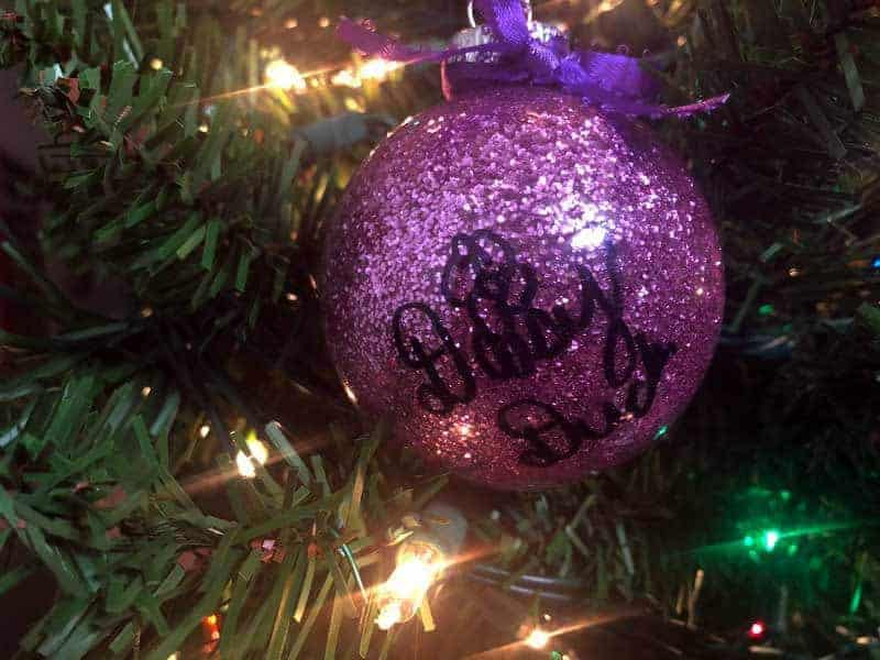 Plastic Ornament signed by Daisy Duck