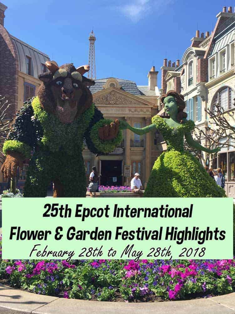 25th Epcot International Flower And Garden Festival Highlights
